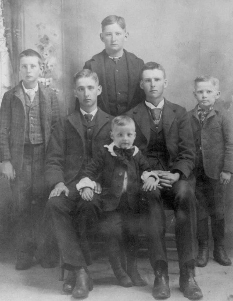 Ziegler Barkey's Boys-Frank on far left